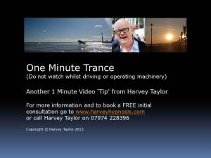 One Minute Trance